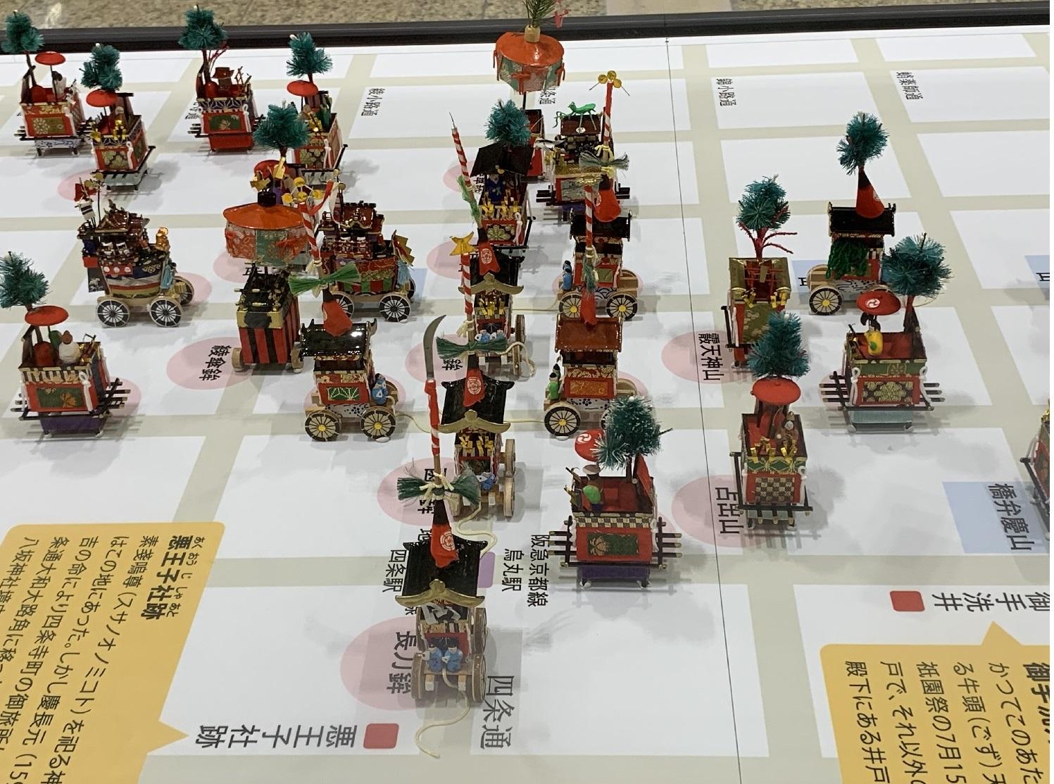 京都、祇園祭り、四条烏丸、山鉾、瓢斗